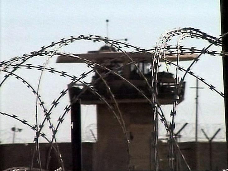 Ilustrační foto: věznice Abú Ghrajb v Bagdádu.