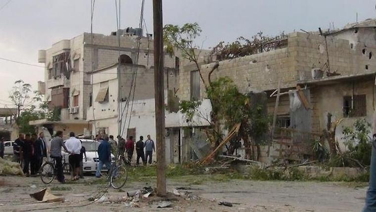 Útok proti povstalcům v Homsu