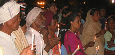 AI India Bhopal action in Delhi