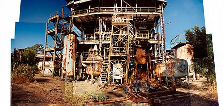 Derelict Union Carbide plant