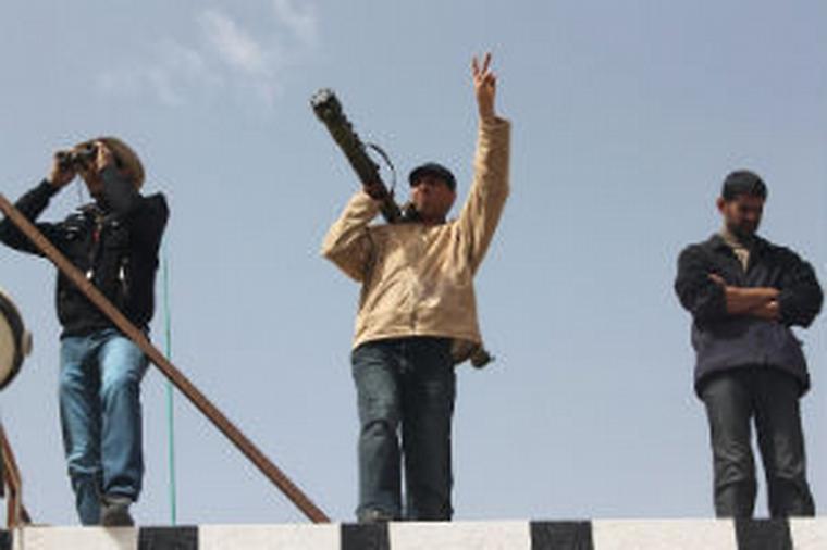 Ilustrační foto, Libye, 1. března 2011.